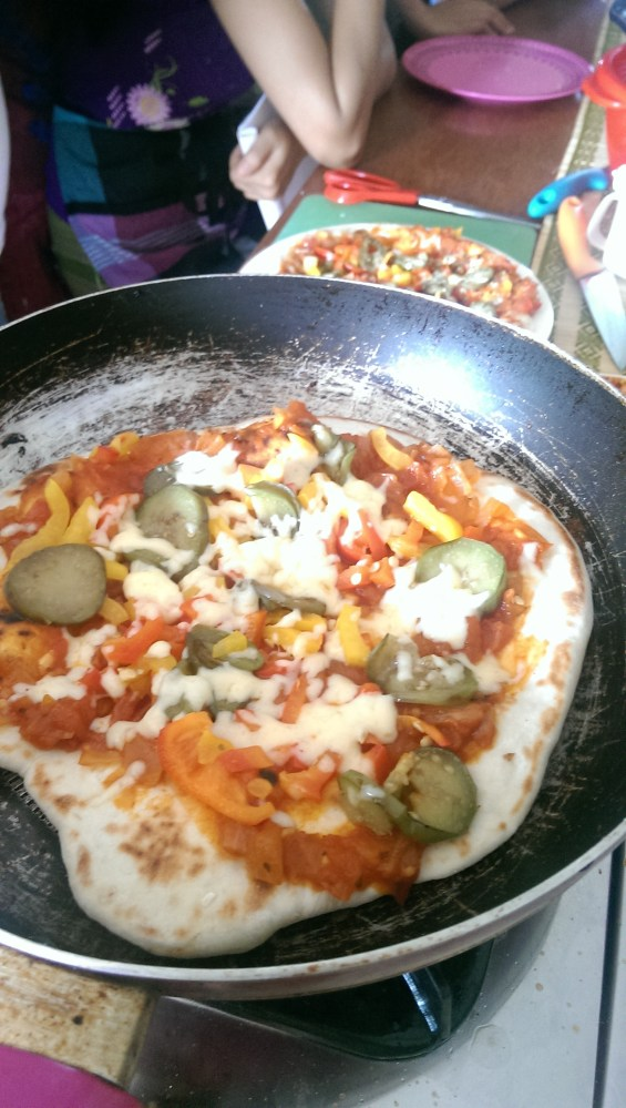 Pizza in a Pan (No Oven Recipe) (5/6)