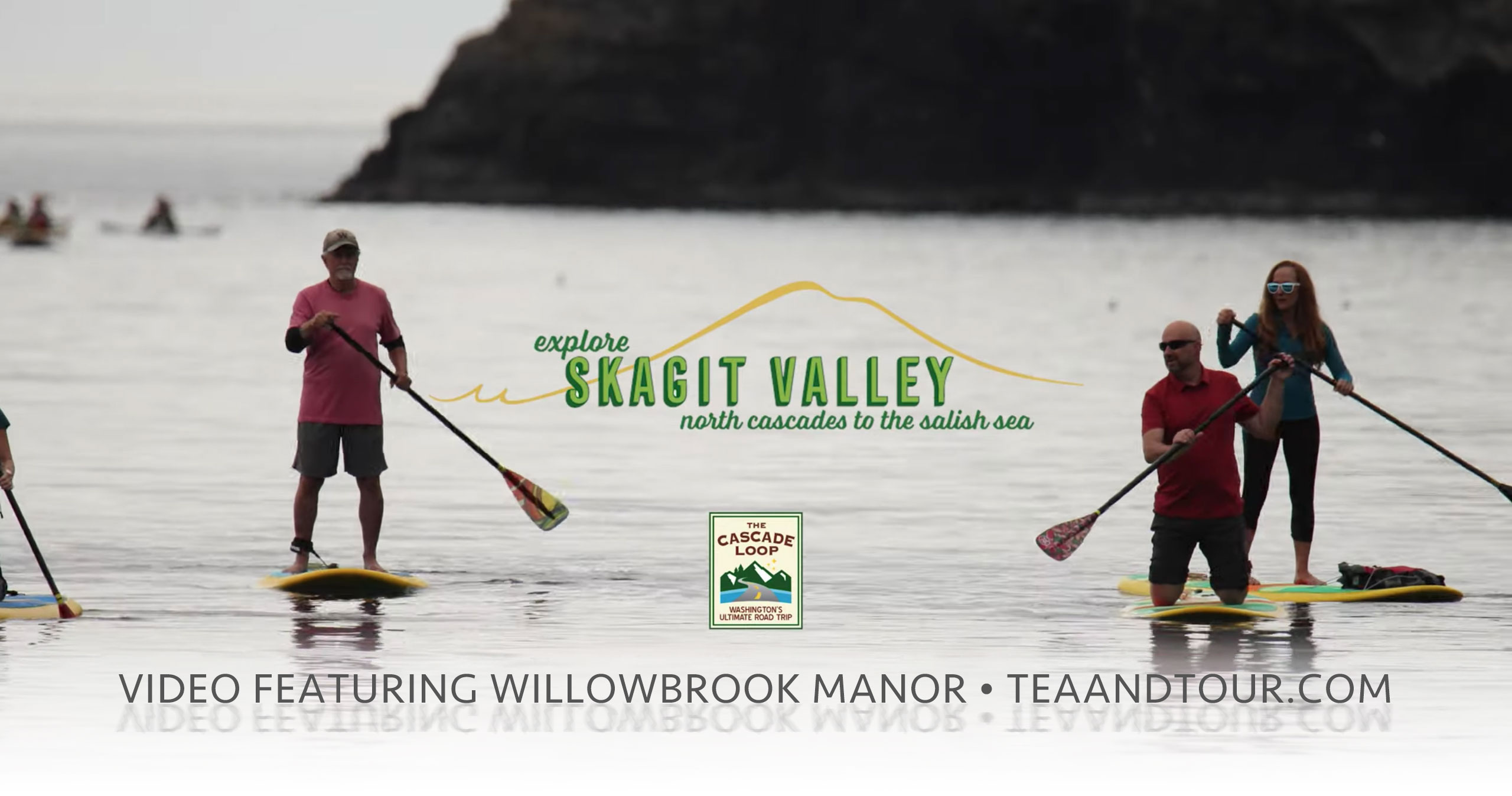 Visit Skagit Valley Video featuring Willowbrook Manor