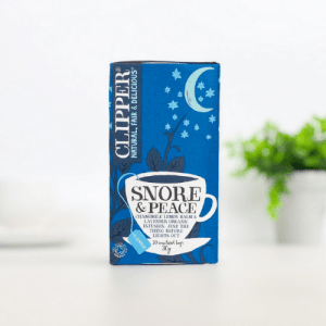 Clipper Snore and Peace Tea