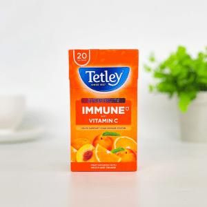 Tetley Immune Peach and Orange