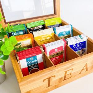 Tea Storage Box 9 partition sample