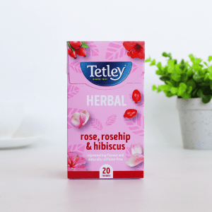 Tetley Rose, Rosehip and Hibscus Infusion