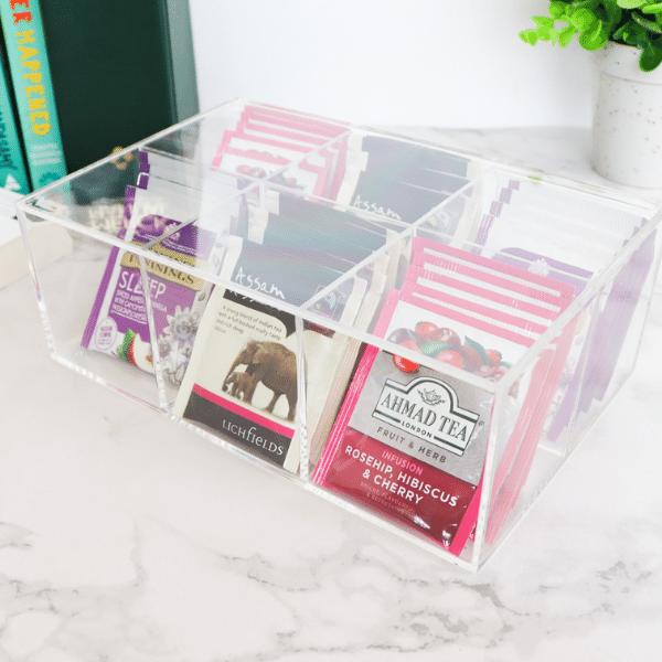 Acrylic tea storage box 2