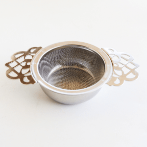 Victorian Tea Infuser Silver