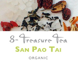 TeaBling.com Featured 8 Treasure Tea - San Pao Tai
