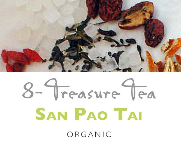 TeaBling.com Featured 8 Treasure Tea - San Pao Tai