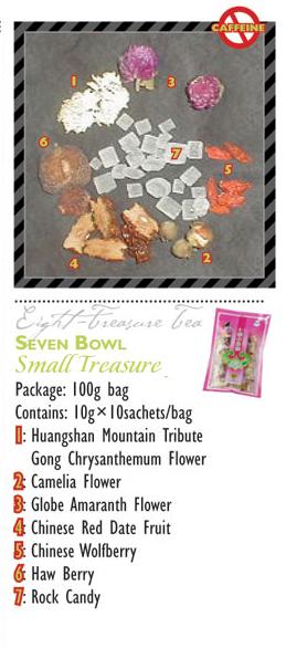 TeaBling.com Featured 8 Treasure Tea - Small Treasure Label