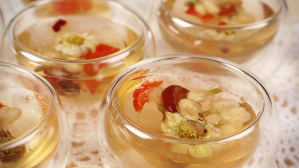 Eight Treasure Tea Jelly Recipe
