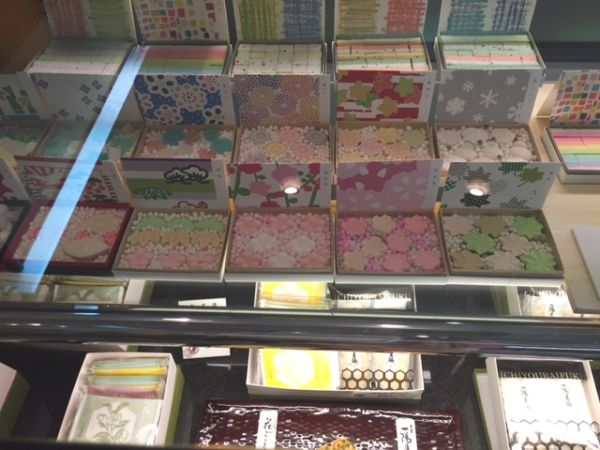 The traditional & modern Sweets for spring in Kyoto Japan