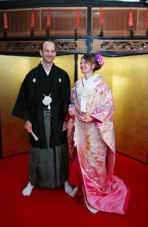 Private Anniversary Tea Ceremony & Wearing luxurious Silk Kimono