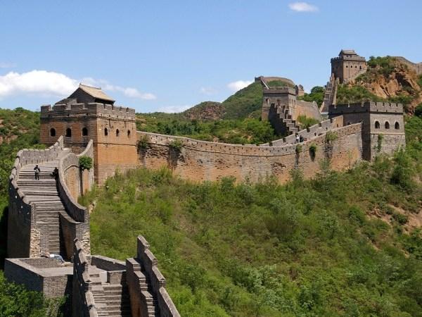 The Great Wall, near Beijing