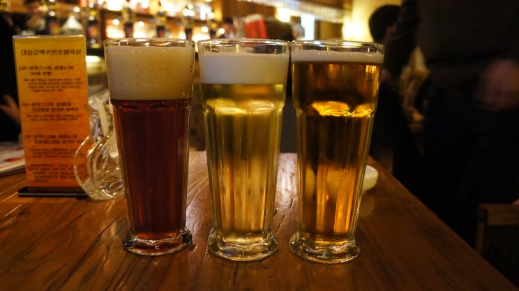 Craft beer at Jing A Brewing Taproom