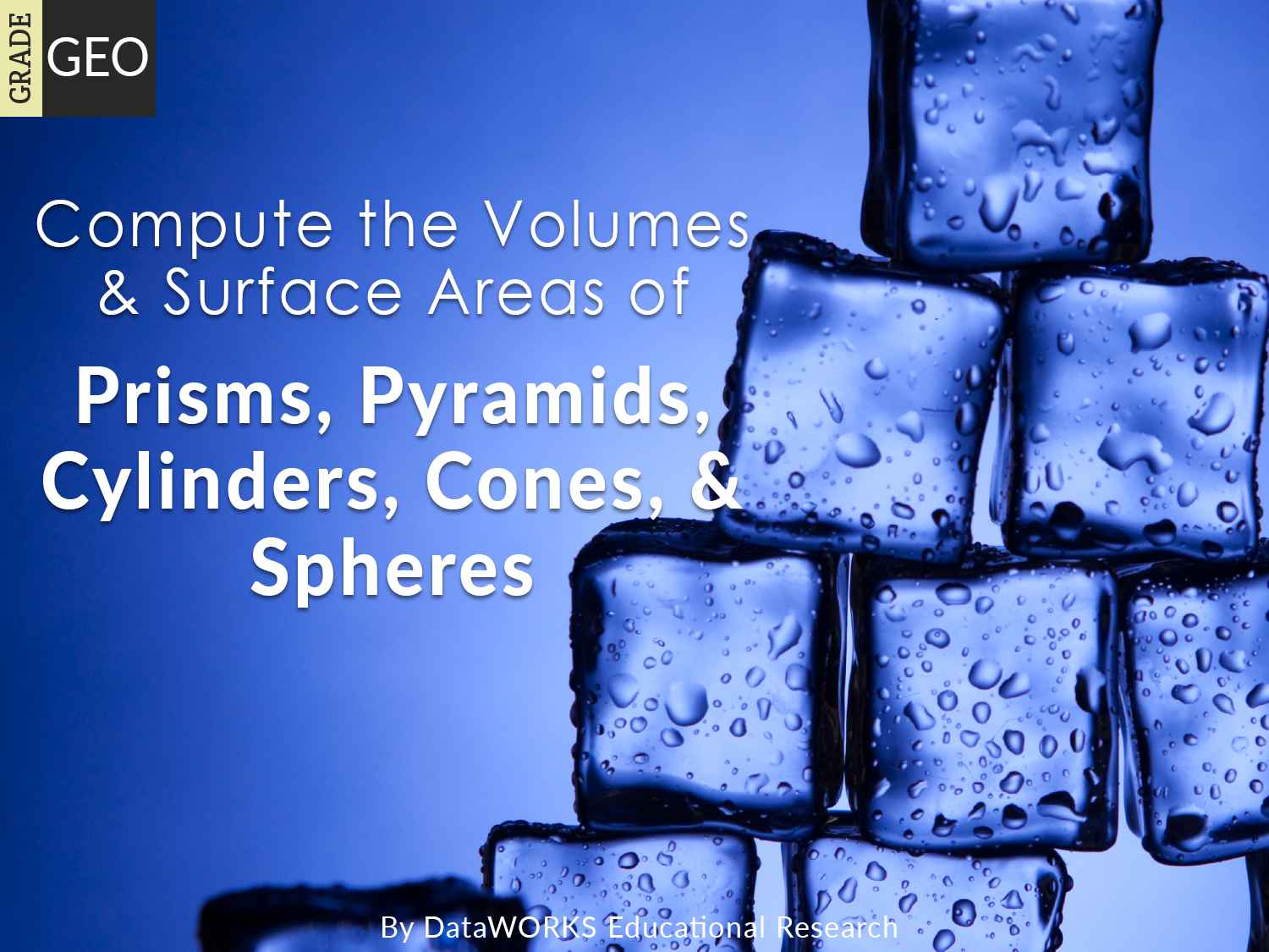 Compute The Volumes And Surface Areas Of Prisms Pyramids
