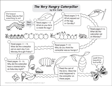the very hungry caterpillar text # 49