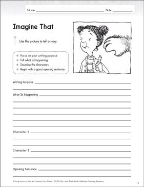 Imagine That Grade 3 Narrative Writing Lesson