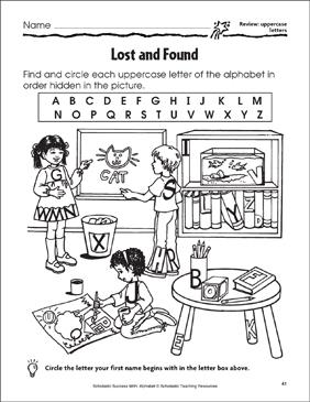 find the alphabet # 24