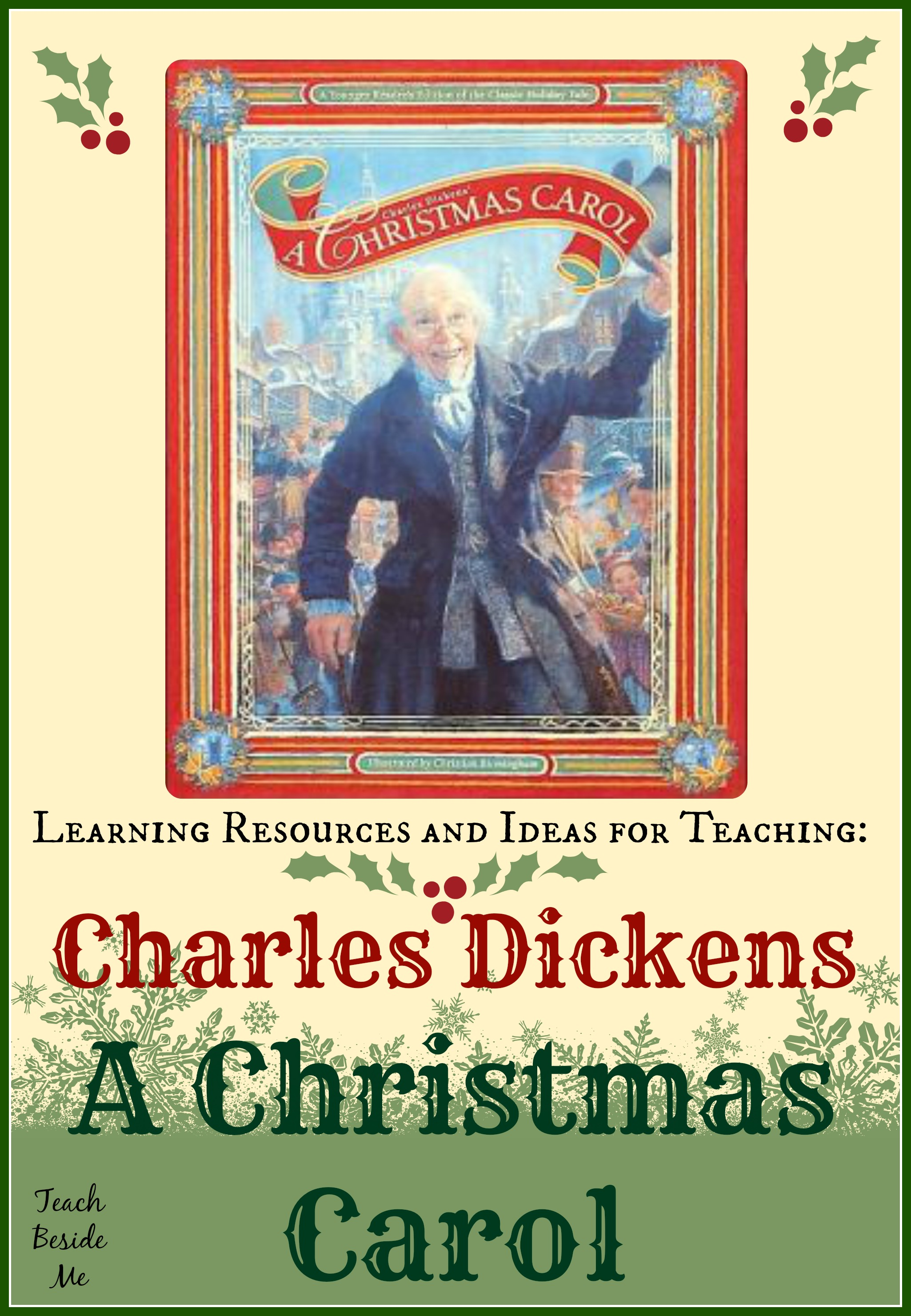 Charles Dickens A Christmas Carol Lesson Ideas