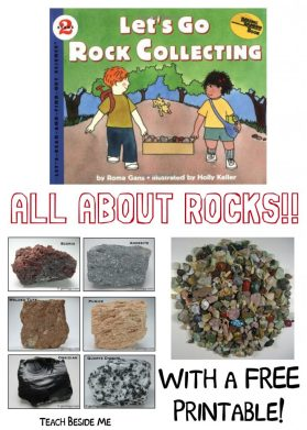 All About Rocks- Identify Rocks With Kids