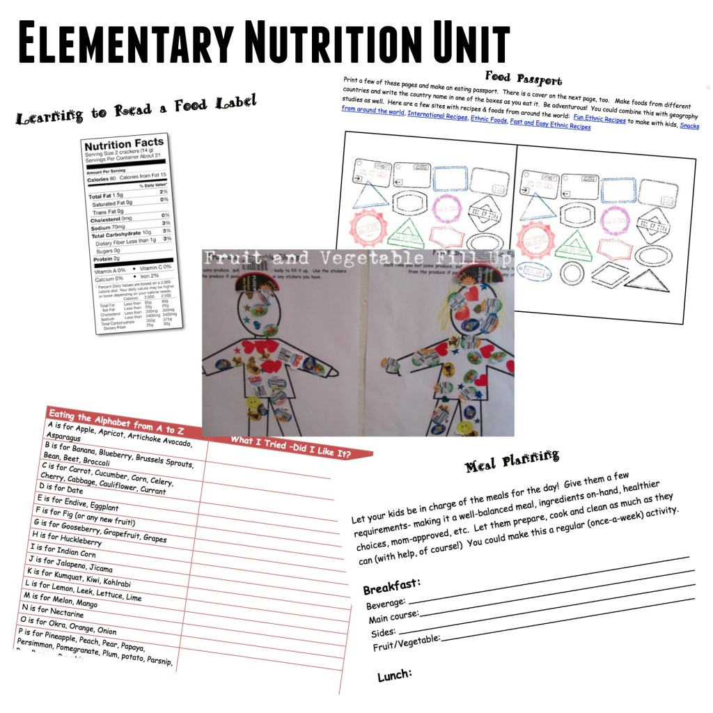 Food And Nutrition Unit