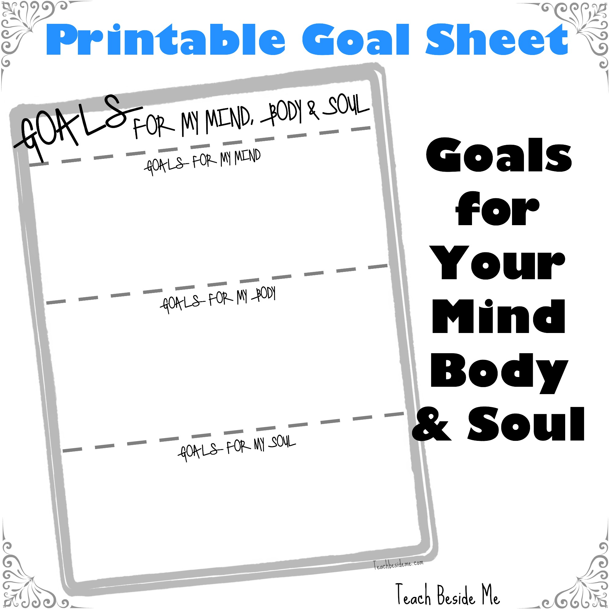 Business Goal Worksheet Template