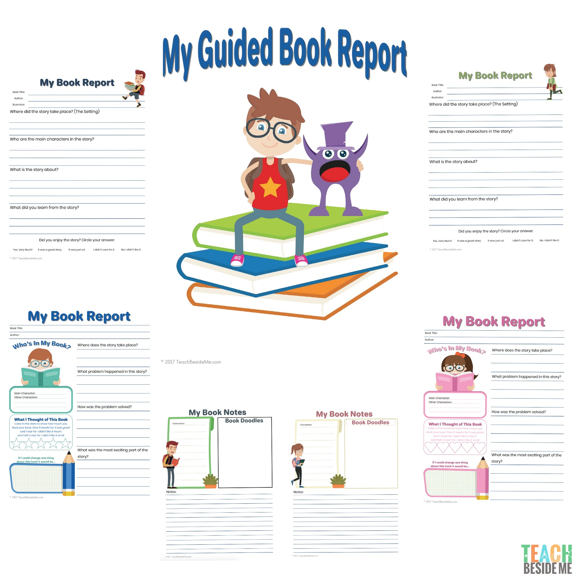 Elementary Guided Book Report