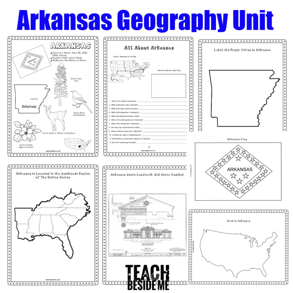 Arkansas State Worksheet
