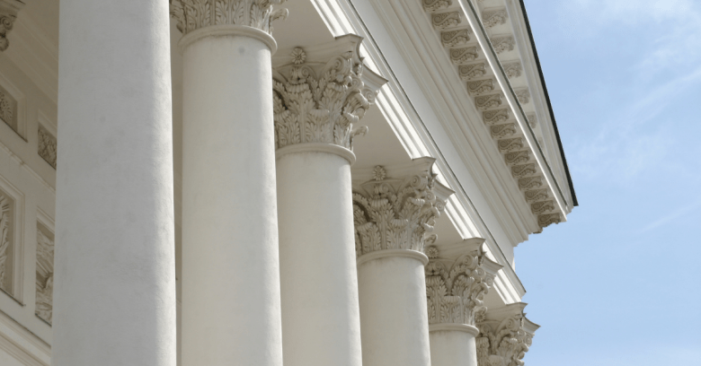 Blog Pillar Content Planner Ancient Roman Pillars Image