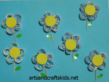 أعمال فنية سهلة لأطفال الروضة