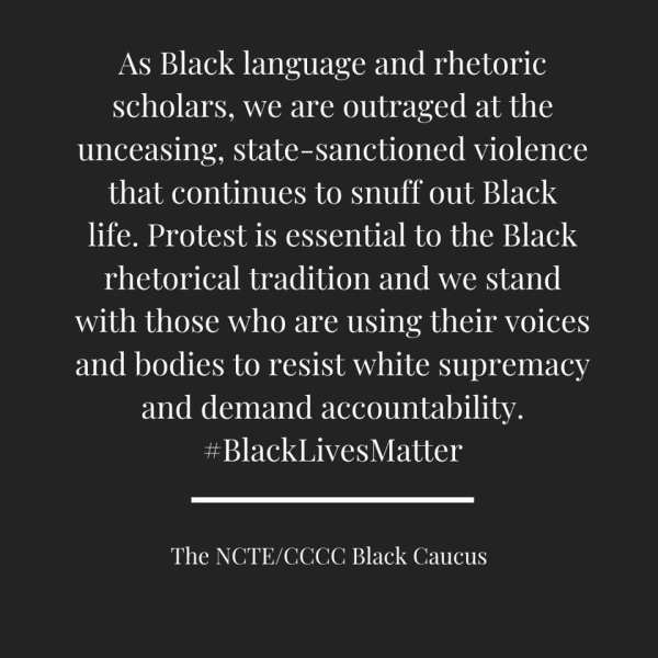 Black Caucus Statement