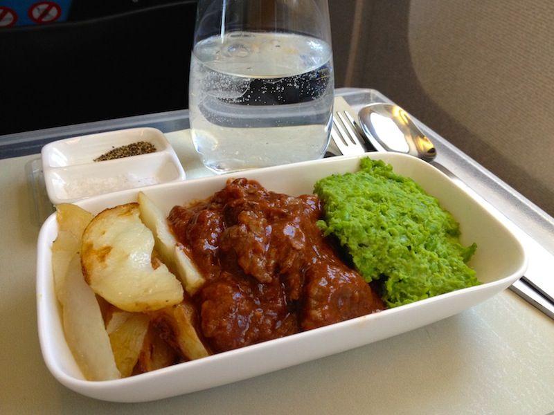 <ニュージーランド航空機内食>NZ296/AKL-APW/オークランド-アピア