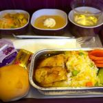 <タイ国際航空機内食>TG409/BKK-SIN