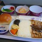 <タイ国際航空機内食>TG649/FUK-BKK/福岡-バンコク