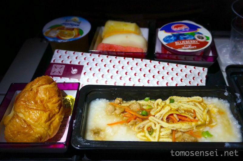 【カタール航空機内食】QR853/KUL-DOH/クアラルンプール-ドーハ