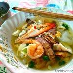 【チャンタブリー】シャコ!カニ!エビ!名物のシーフード麺を食べ比べ!