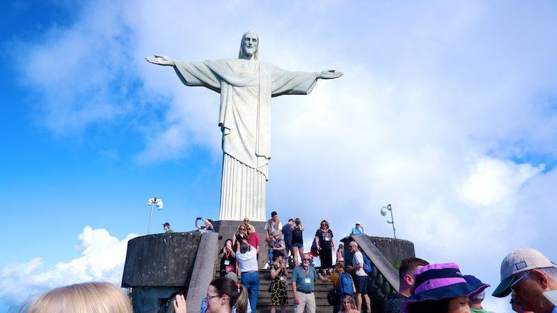 【世界一周】リオデジャネイロを臨む世界遺産コルコバードの丘へ
