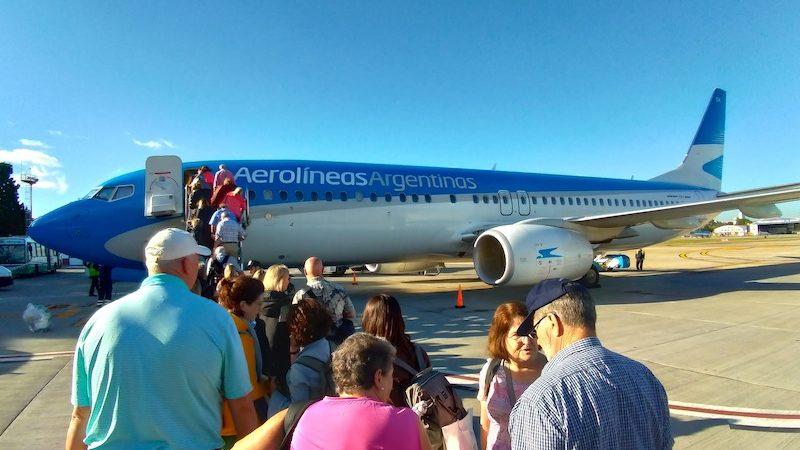 【アルゼンチン航空機内食・搭乗記】AR1720/AEP-IGR/ブエノスアイレス(アエロパルケ)-プエルト・イグアス