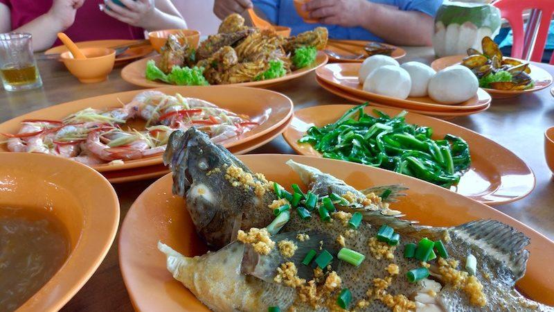 【マレーシア】ククップ漁村でシーフードランチ「High King Seafood/海晶海鮮楼」