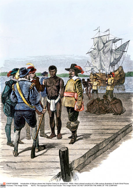 First Africans Brought America
