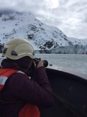 Taking Pics of Johns Hopkins glacier small