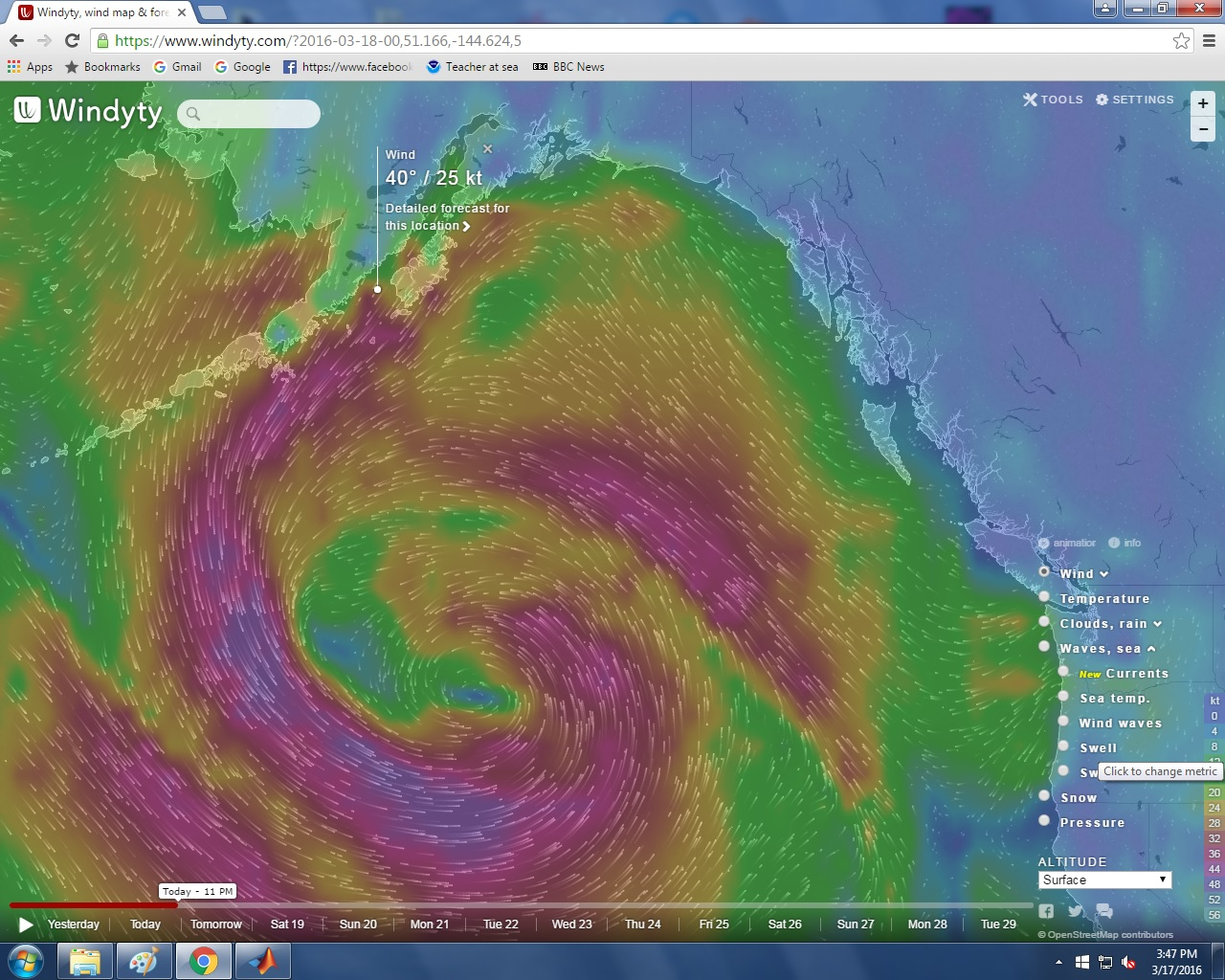 Windy Ty Weather Wind Map Noaa Teacher At Sea Blog