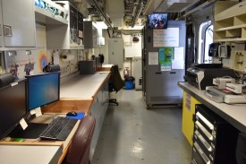 Dry Lab on NOAA Ship Shimada