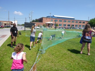 Students get caught in the trawl net...