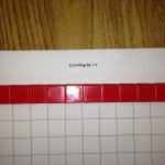 counting by 1's mat