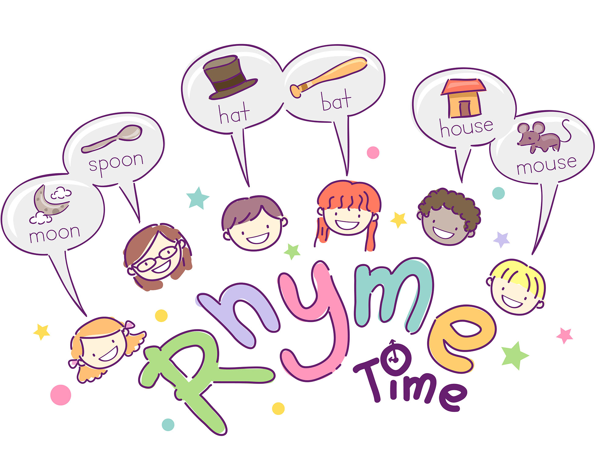 Rhyming Words Worksheet For Kinder