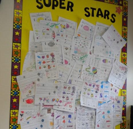 SUPER STAR BOARD + PIN LINKY