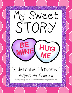 THE RETURN OF MY SWEET STORY – ADJECTIVE FREEBIE