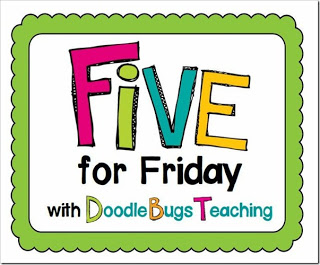FIVE FOR FRIDAY + SPRING SKILLS FREEBIE