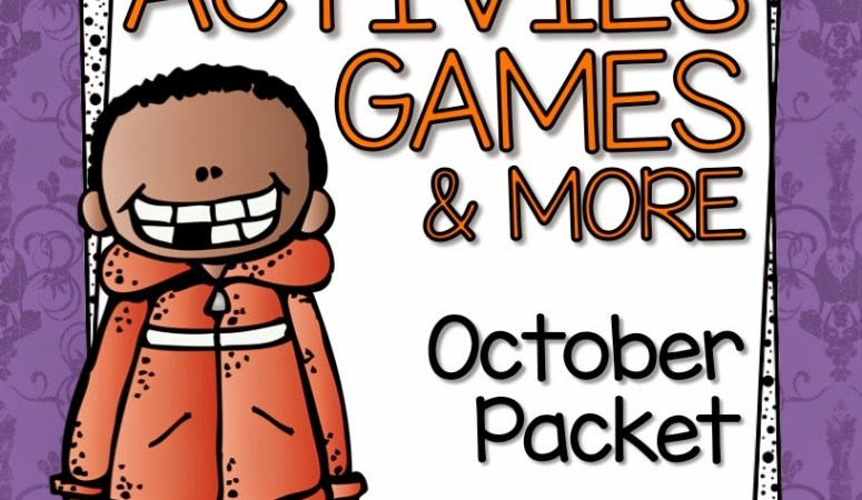 OCTOBER MATH STATIONS + HALLOWEEN CCSS FREEBIE