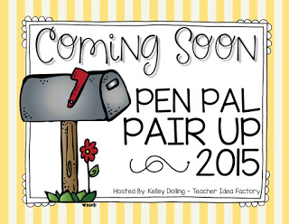 PEN PAL PAIR UP 2015 – COMING SOON