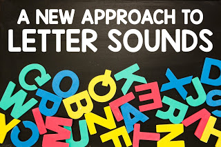 A NEW IDEA FOR LETTER SOUND PRACTICE